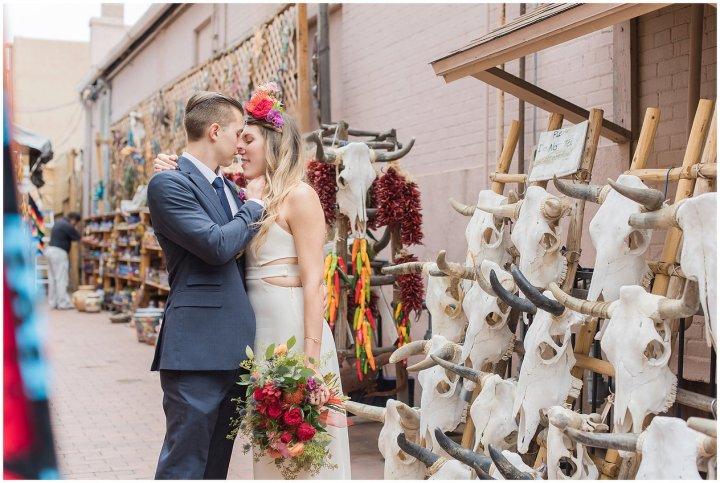 Real Wedding at La Fonda | Ginny + Kolton's Laid BackCelebration