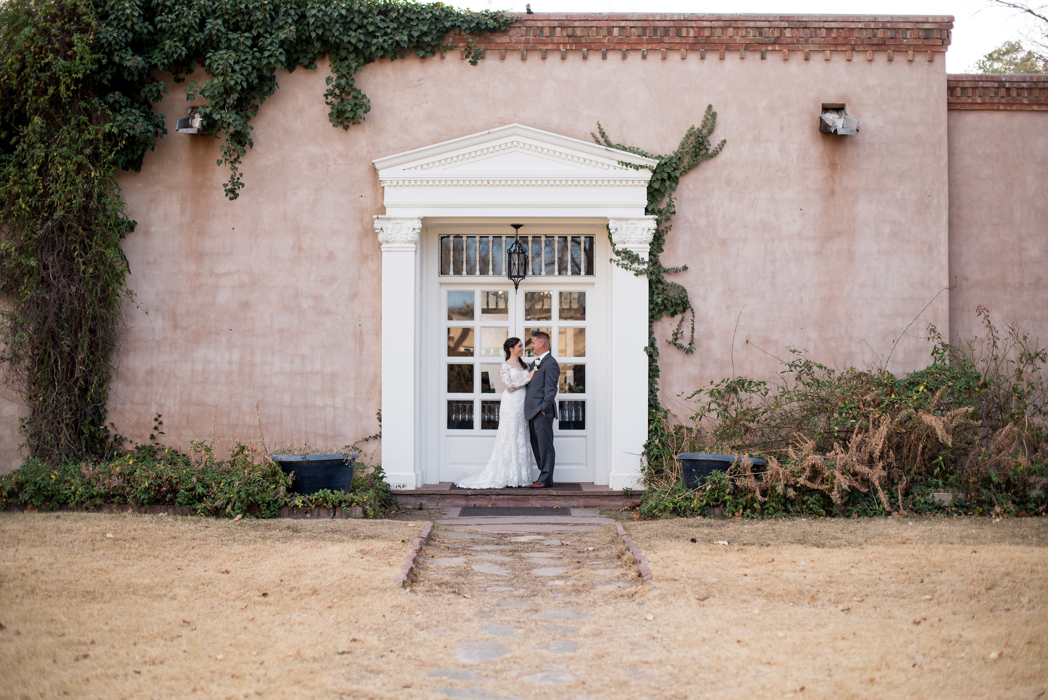wedding planning design decor inspo real local New Mexico Perfect Wedding Guide outdoor couple love bride groom natural light ceremony first look romantic professional architecture historical farm