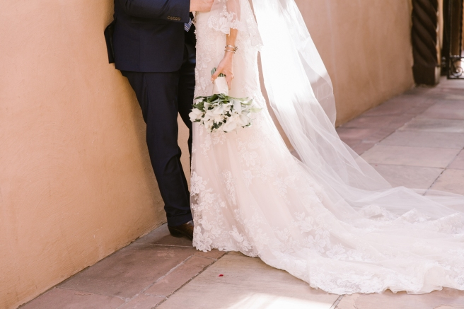 New Mexico wedding Santa Fe planning La Fonda gown suit inspiration design floral bouquet lace photography romantic styled local perfect wedding guide
