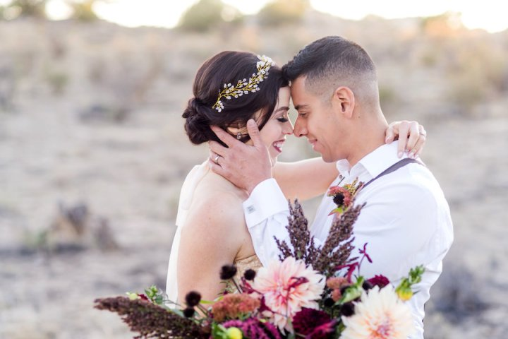 Desert Elopement on White Mesa {Styled Shoot}