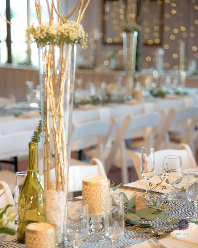 Perfect Wedding Guide planning design inspo ceremony inspiration marriage wedding vows celebration engaged planner tips tricks tablescape decor event New Mexico Albuquerque Santa Fe details candles gold delicate elegant greek chic