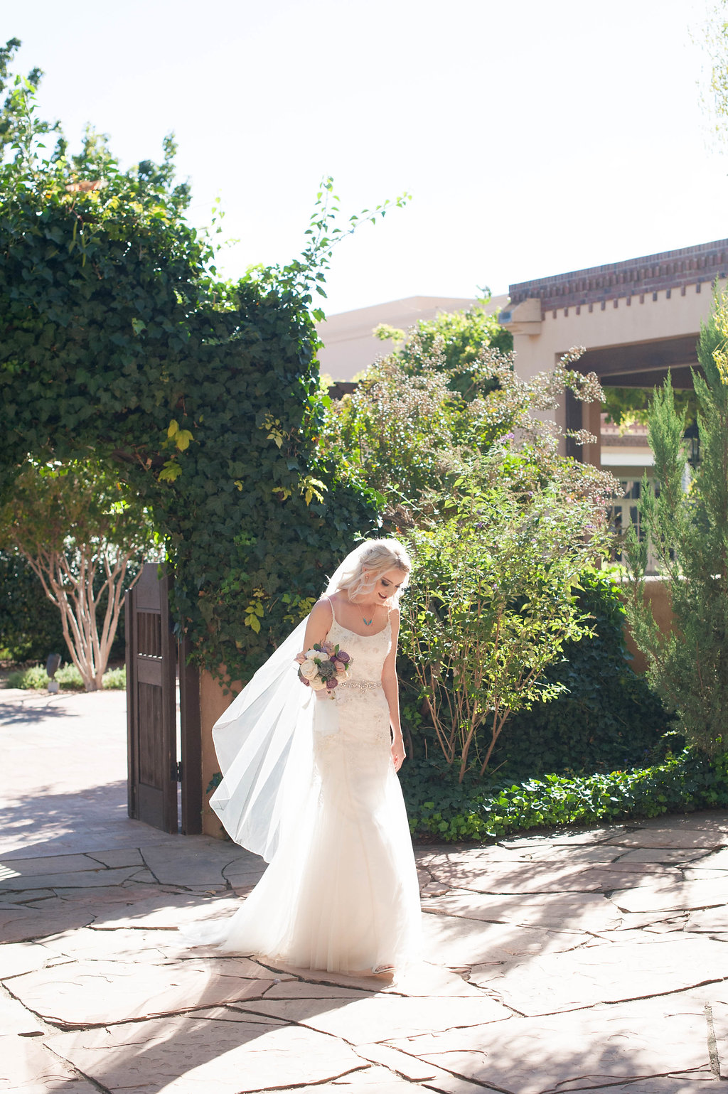 Perfect Wedding Guide New Mexico Albuquerque Santa Fe planning design inspo inspiration photography local marriage love engagement ceremony wedding gown outdoor natural light portrait bride couple veil sunshine
