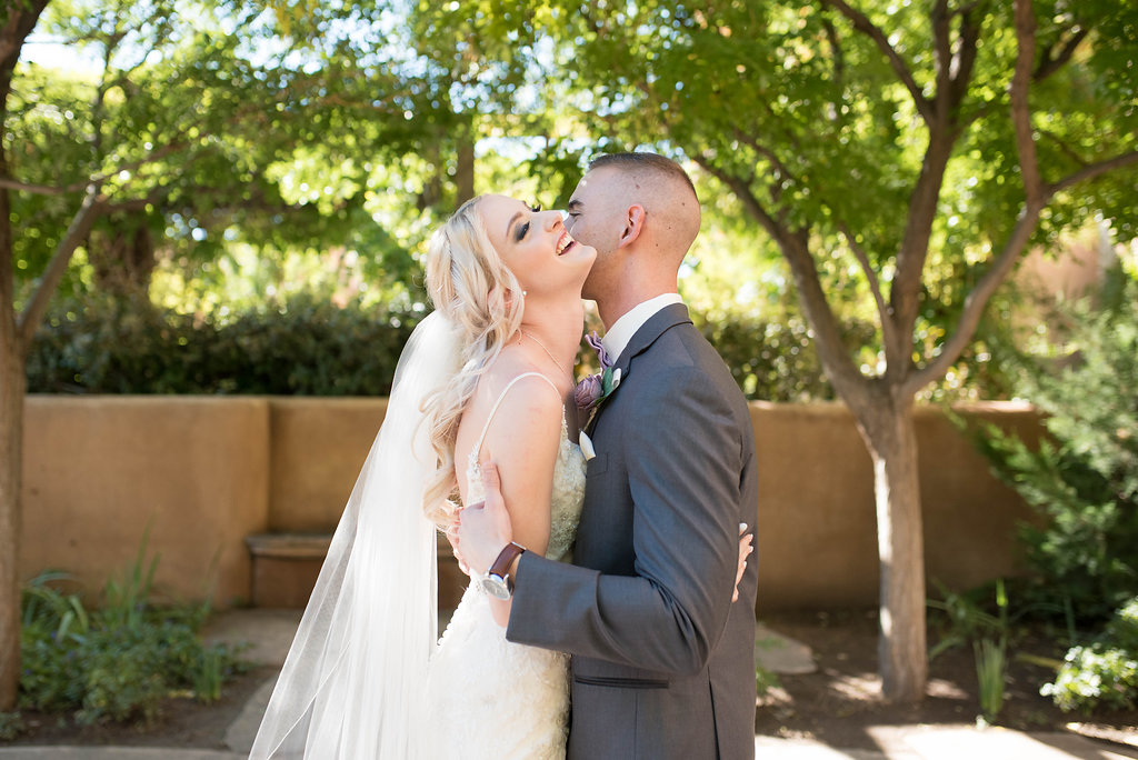 Perfect Wedding Guide New Mexico Albuquerque Santa Fe planning design inspo inspiration photography local marriage love engagement ceremony wedding couple blonde hair make up tux groom bride love outdoor ceremony photography natural light