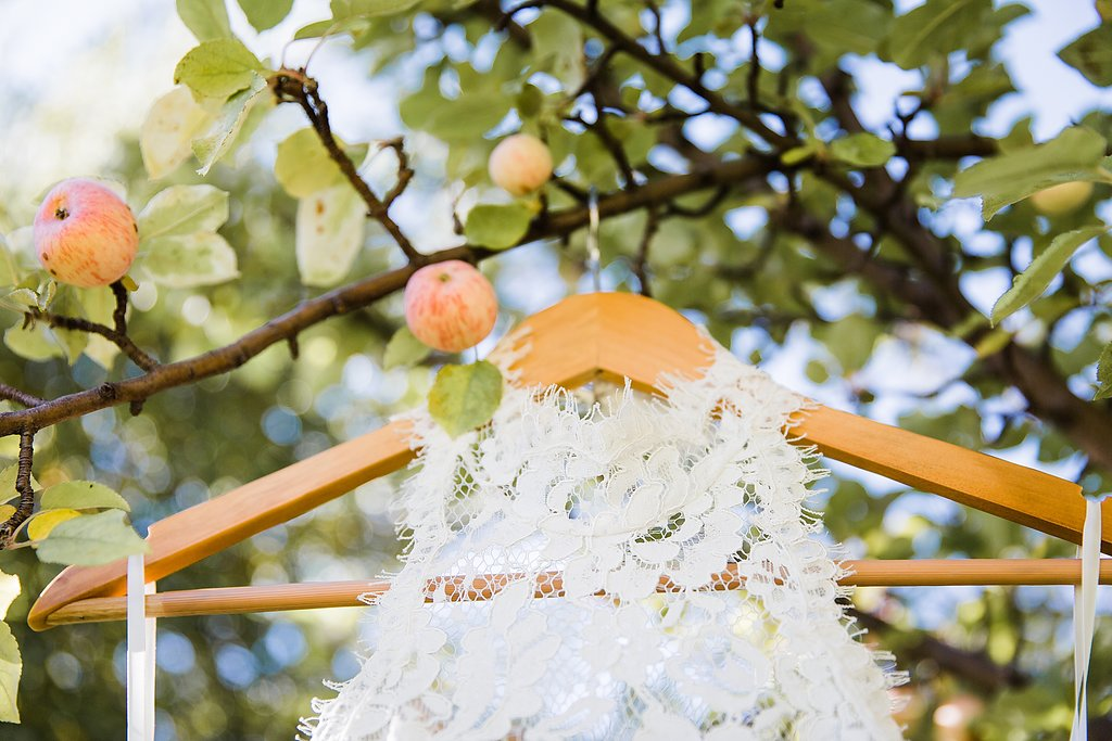 Airy + Alluring Apple Orchard {Real} Wedding