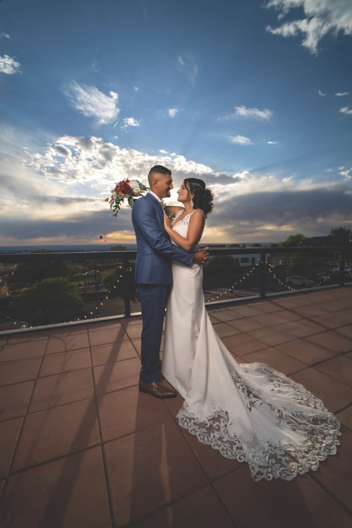 Dramatic New Mexican Skies with Local Wedding Professionals