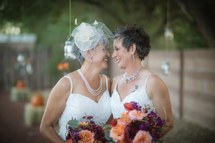 Angie + Audra's Backyard Wedding with Matt BlasingPhotography