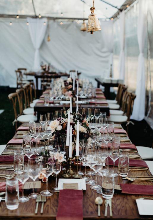 La Mesita Ranch Estate Wedding Venue Reception Setup Beautiful Gorgoues Hot Spot