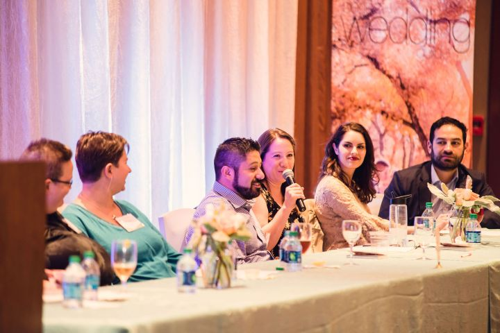 wedding professionals speaking focus group bridal engaged couples