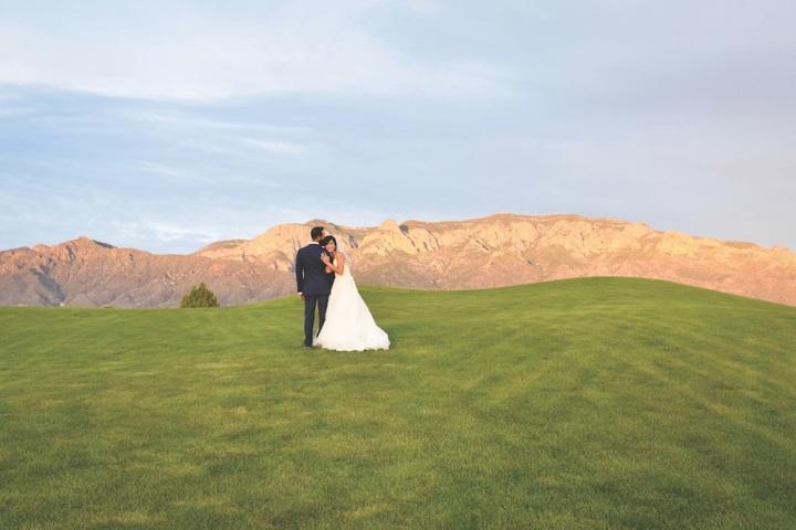 sandia event center sandia golf club sandia resort and casino wedding venue ceremony reception photos