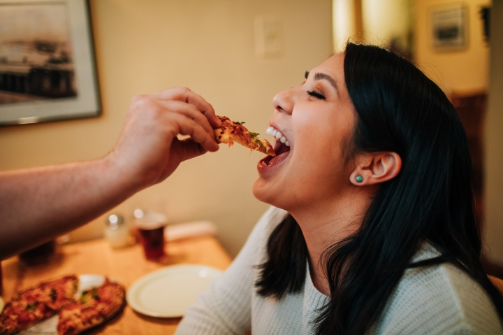 Pizza in Santa Fe AKA The Best Engagement Session Ever