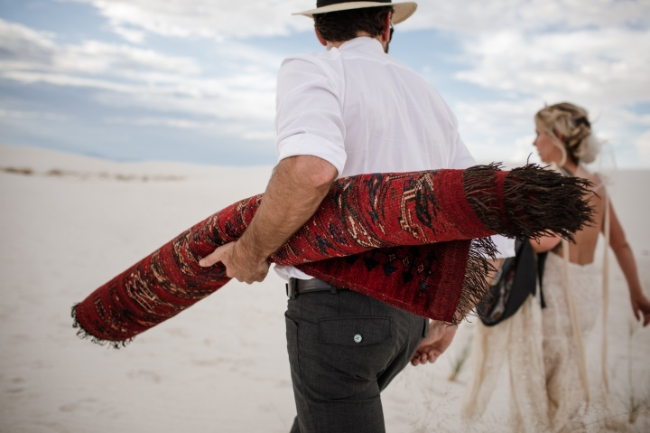 White Sands Elopement with Matt Blasing Photography