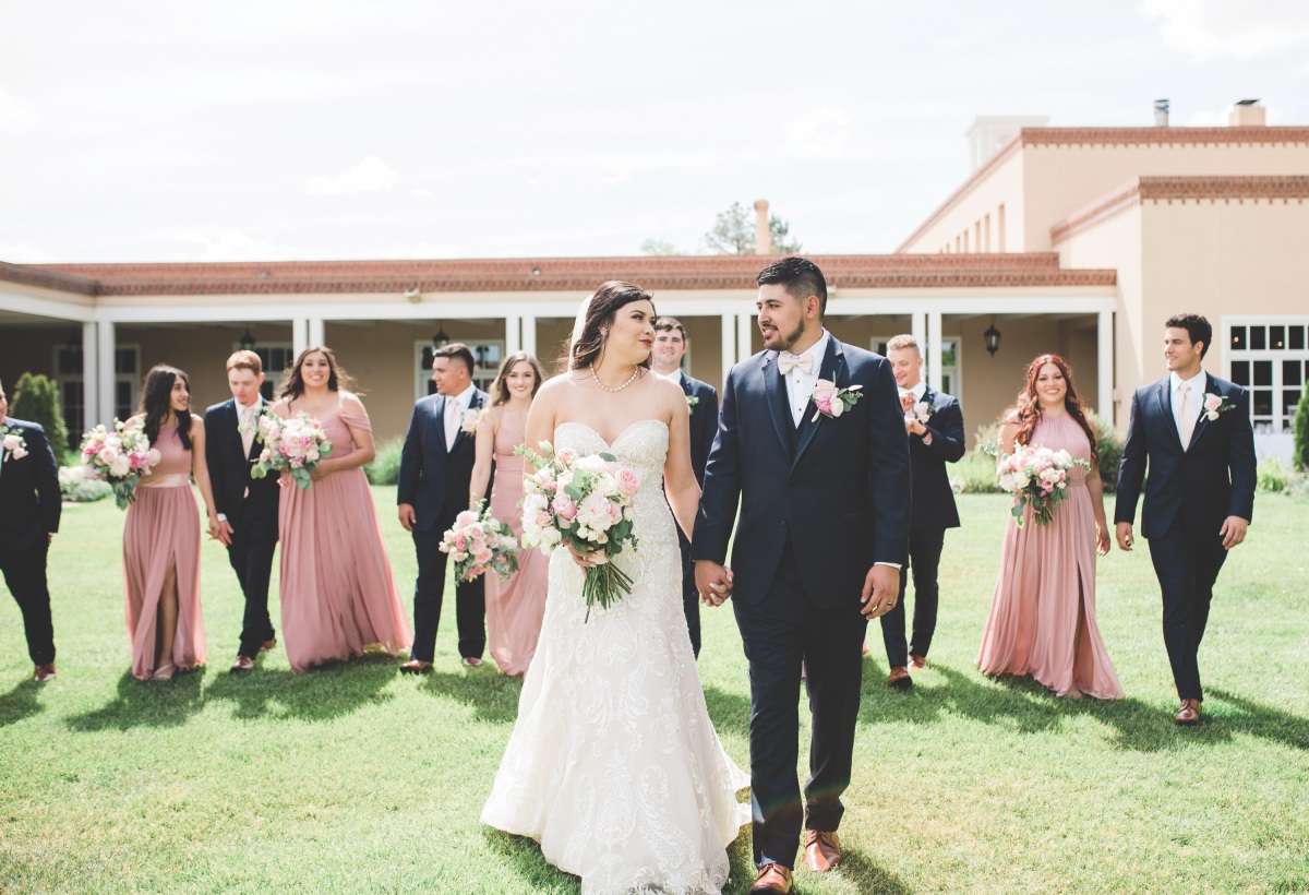 Pink + Perfection: Real Wedding with Briana Nicole Photography