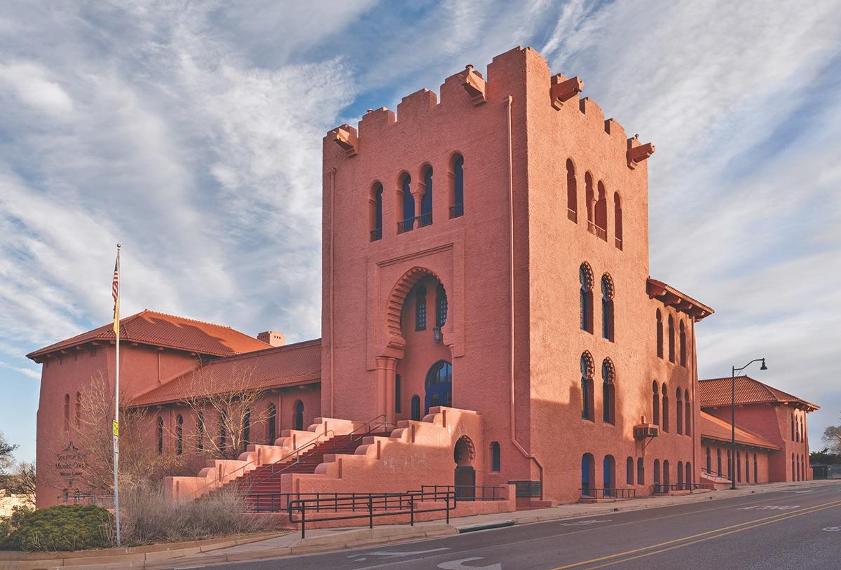 New Mexico History & Culture: Santa Fe Scottish RiteTemple