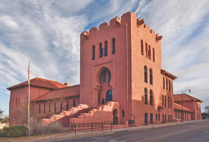 New Mexico History & Culture: Santa Fe Scottish Rite Temple