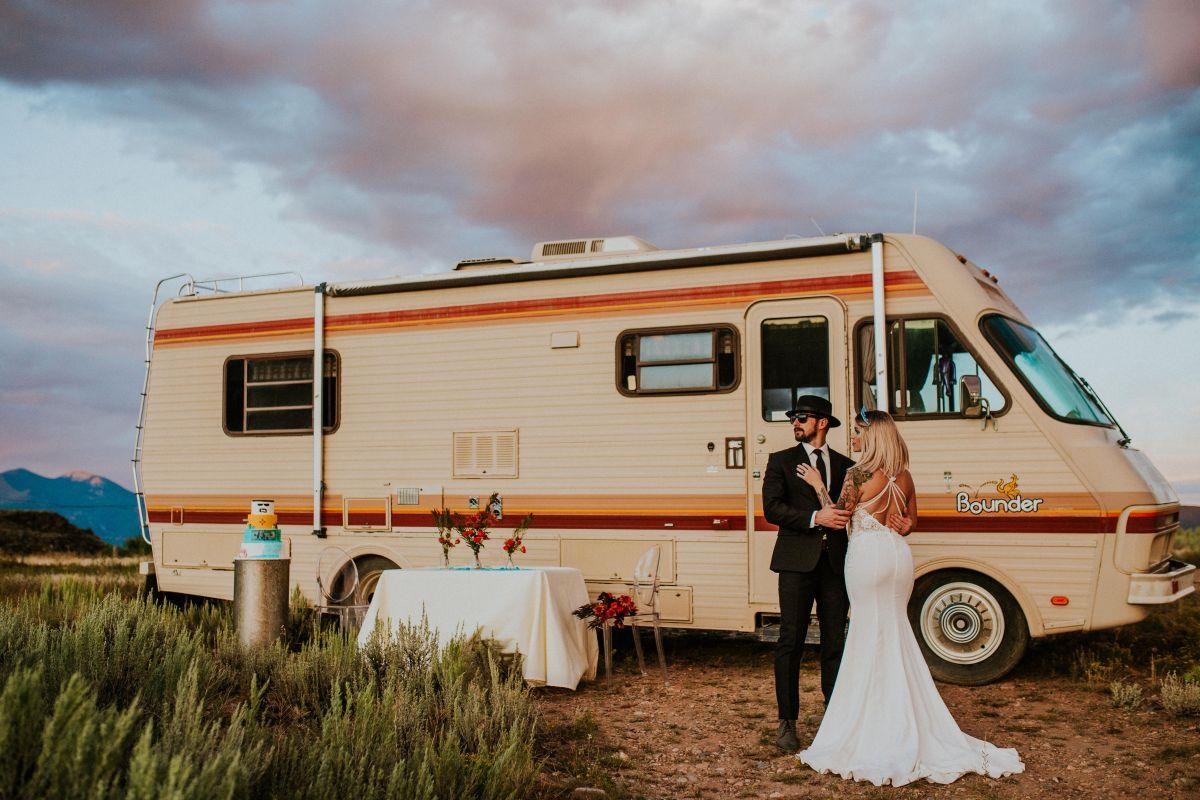A 'Breaking Bad' Inspired WeddingShoot