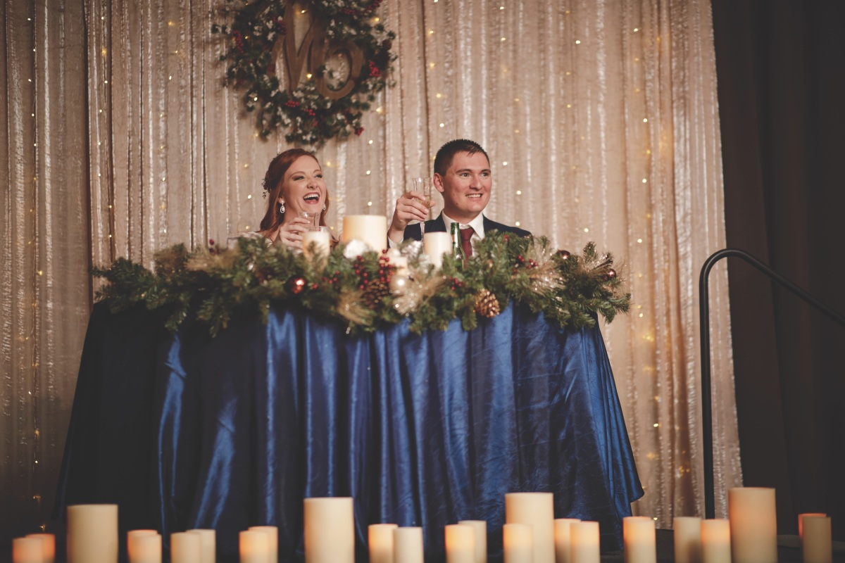 Winter Magic: A Real Wedding at The Event Center at Sandia Golf Club