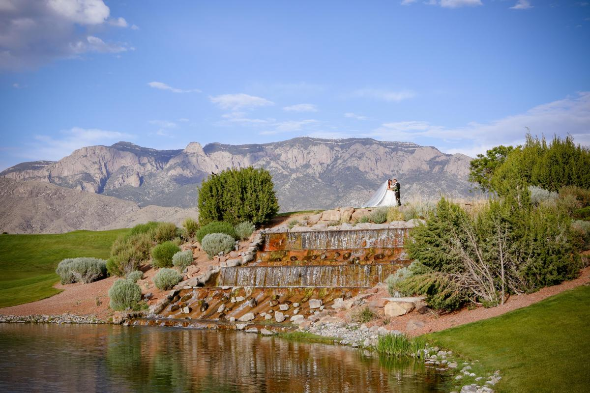 Once Upon A Time: A Real Wedding with the Event Center at Sandia Golf Club