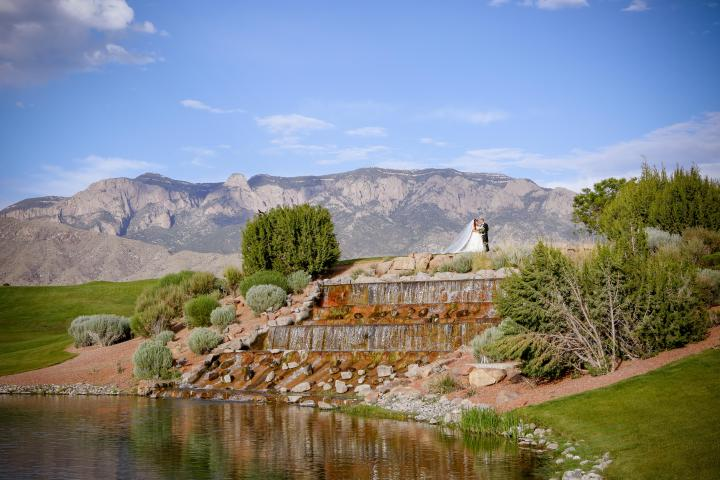 Once Upon A Time: A Real Wedding with the Event Center at Sandia GolfClub