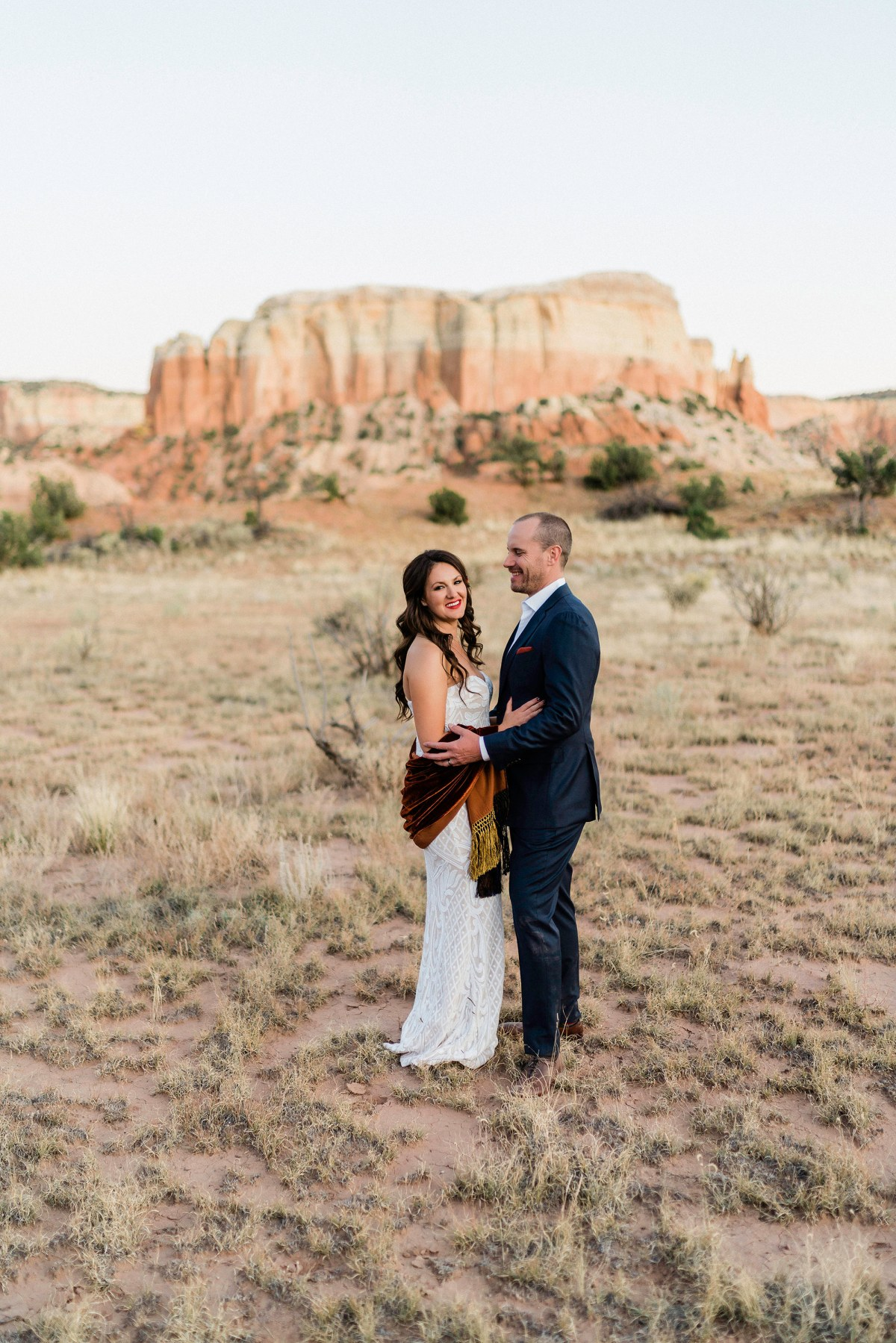 Ghost Ranch: A Real Wedding with Carissa & BenPhotography