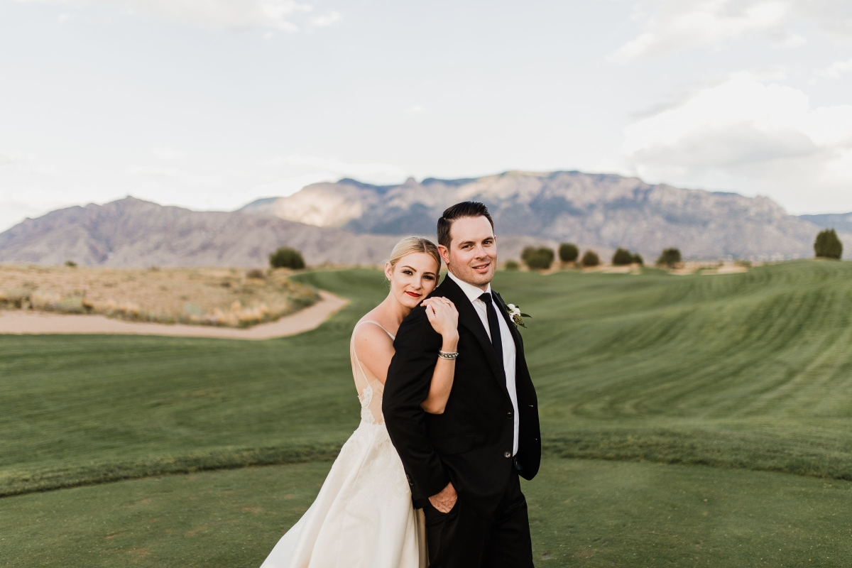 Pure Elegance: A Real Wedding at The Event Center at Sandia Golf Club